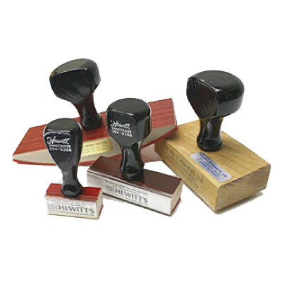 Rubber Stamps The Geo H Hewitt Co Limited